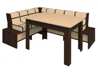 Уголок на кухню и стол MILK FAMILY 1950 - Мебельная фабрика «Happy home»