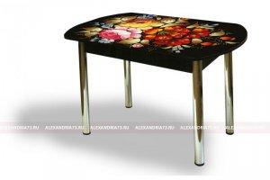 Стол стеклянный Европейский ЧС 56 - Мебельная фабрика «Александрия», г. Ульяновск