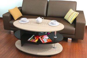 Журнальный стол Консул 4 - Мебельная фабрика «ТЭКС» г. Пенза