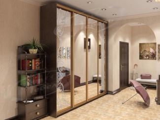 Шкаф - купе «Зеркальный классик» - Мебельная фабрика «Ладос-мебель»