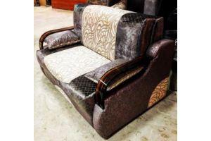 Прямой диван аккордеон - Мебельная фабрика «Лора», г. Нижний Новгород