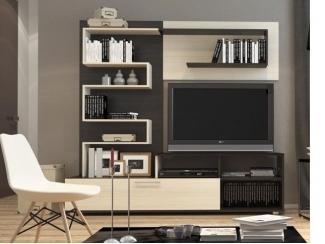 Гостиная стенка Кристи 11 - Мебельная фабрика «Волжская мебель»