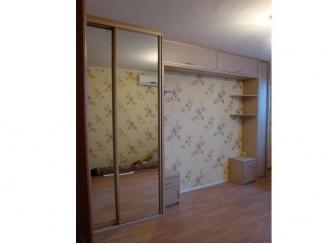 Шкаф-купе с тумбами и полками - Мебельная фабрика «ТРИ-е»