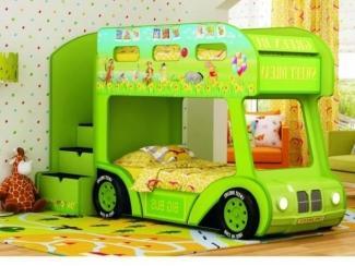 Двухъярусная кровать-Aвтобус  Vinni  Люкс - Мебельная фабрика «Red River»