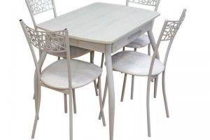 Стол металлический с лотком для приборов - Импортёр мебели «МебельТорг»