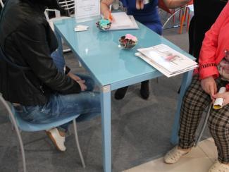 Мебельная выставка Сочи: стол обеденный, стулья
