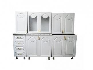Кухня прямая Цветочек - Мебельная фабрика «Мебель эконом»