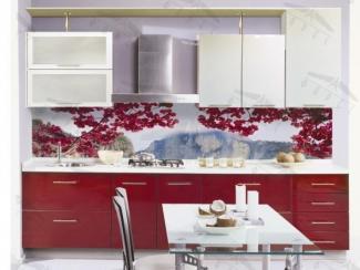 Кухонный гарнитур прямой Глэм3 - Мебельная фабрика «Фарес»