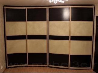 Криволинейный шкаф купе - Мебельная фабрика «ТРИ-е»