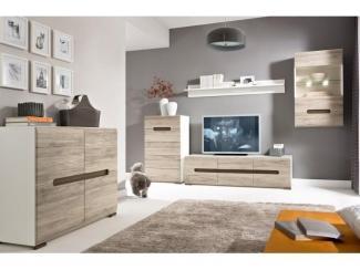 ГОСТИНАЯ АЦТЕКА ДУБ САНРЕМО - Импортёр мебели «БРВ-Мебель (Black Red White)»