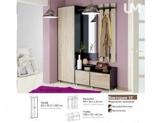 Прихожая Виктория 12 - Мебельная фабрика «Пассаж плюс», г. Волгодонск