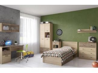 Спальня молодежная Дизель 2 - Мебельная фабрика «Анрекс»