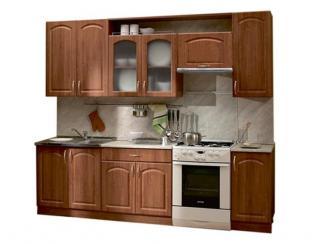 Кухонный гарнитур прямой Классика с карнизом - Мебельная фабрика «Боровичи-мебель», г. Боровичи