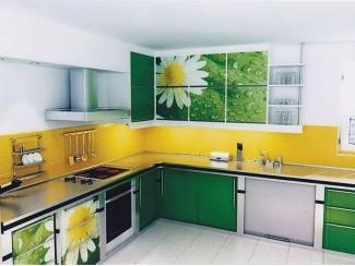 Кухня с фотопечатью KF 9 - Мебельная фабрика «FSM (Фабрика Стильной Мебели)»