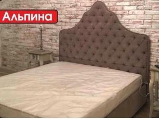 Кровать с высоким изголовьем Альпина - Мебельная фабрика «Аяччо»