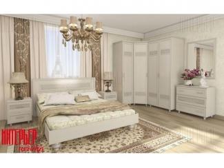 Светлая спальня Виктория  - Мебельная фабрика «Интерьер-центр»
