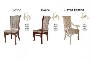 Стул Лотос - Мебельная фабрика «Вектра-мебель»