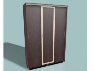 Шкаф-купе Леон 1,5 рамочный - Мебельная фабрика «Средневолжская мебельная фабрика»