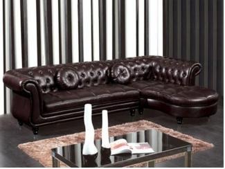 Честер кожаный диван - Мебельная фабрика «Defy Mebel»