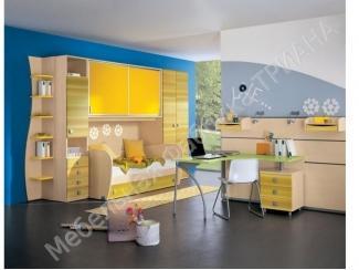 Желтая детская Солнышко  - Мебельная фабрика «Триана»
