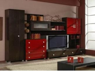 Яркая стенка в гостиную - Мебельная фабрика «Мастер Мебель-М»