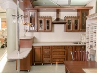 Кухня из массива дуба лиственница 10 - Мебельная фабрика «Леспром»