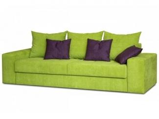 Зеленый прямой диван Флай  - Мебельная фабрика «Могилёвмебель», г. - не указан -