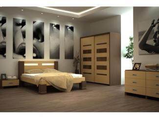 Спальный гарнитур Премьера - Мебельная фабрика «Lasort»