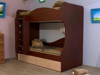 Кровать 2-х ярусная с ящиками - Мебельная фабрика «Мистер Хенк»