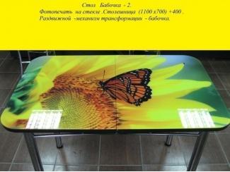 Стол раздвижной Бабочка 2 - Мебельная фабрика «Респект»