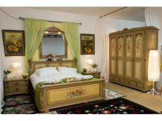 Спальный гарнитур Русский прованс - Мебельная фабрика «Грин Лайн»