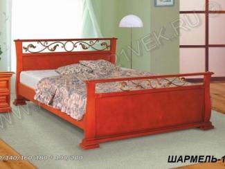Кровать из дерева Шармель 1 - Мебельная фабрика «Альянс 21 век»