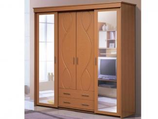 Шкаф-купе 4-х дверный - Мебельная фабрика «Аджио»