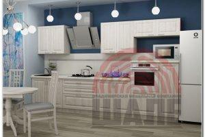 Белая кухня Йота-Оксфорд - Мебельная фабрика «ВМК-Шале»