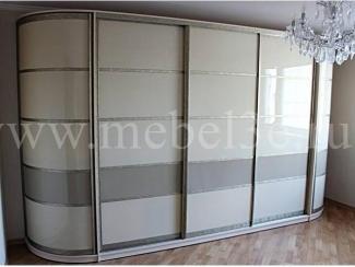 Шкаф с радиусными элементами - Мебельная фабрика «ТРИ-е»