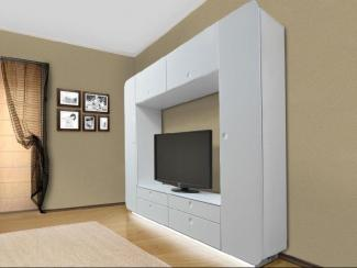Гостиная стенка НЕОН WHITE STYLE - Мебельная фабрика «Евромебель»