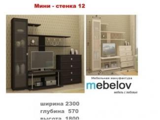 Мини-стенка 12 - Мебельная фабрика «МЕБЕЛов»