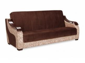 Коричневый прямой диван Мария 2