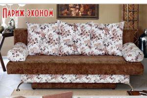 прямой диван Париж эконом - Мебельная фабрика «Барокко»