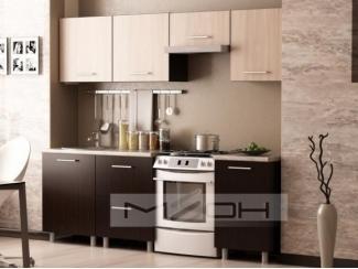 Классическая прямая кухня ЛДСП-33 - Мебельная фабрика «Меон»