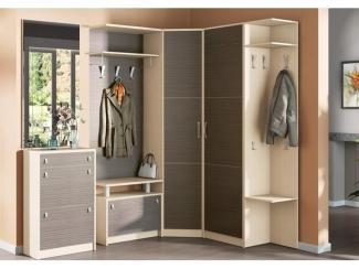 Угловая прихожая с зеркалом - Мебельная фабрика «SEDAK-Мебель»