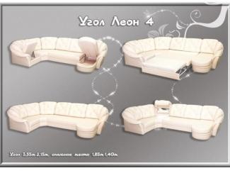 Угловой диван Леон 4 - Мебельная фабрика «Соло»