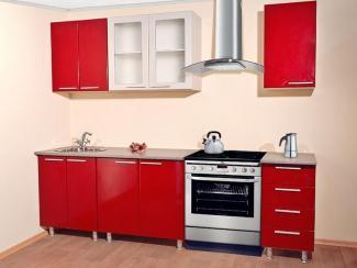 Кухня прямая «Фреш» - Мебельная фабрика «Евромебель»