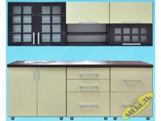 Кухня прямая 58 - Мебельная фабрика «Трио мебель»