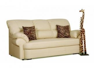 Прямой кожаный диван Элита 4 Д3