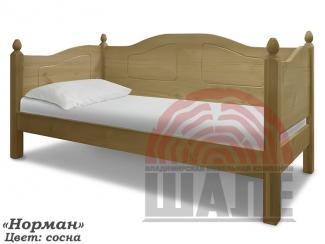 Кровать детская Норман массив - Мебельная фабрика «ВМК-Шале»