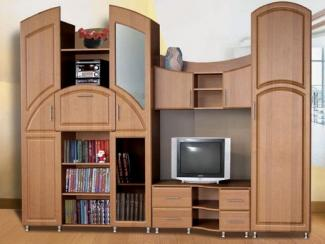 Гостиная стенка Каскад 1 - Мебельная фабрика «Анкор»