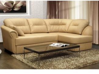 Кожаный Угловой диван - Мебельная фабрика «POBEDA.»