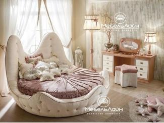 Круглая детская кровать Литл - Мебельная фабрика «МебельЛайн»