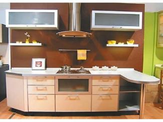 Кухня прямая «HI - TECH 12»